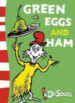 Green Eggs and Ham (Dr Seuss - Green Back Book) -- Paperback (New ed)