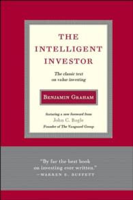 The Intelligent Investor : The Classic Text on Value Investing