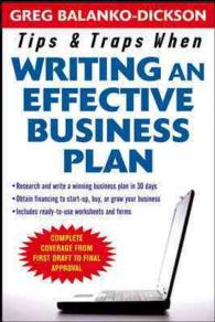Tips & Traps for Writing an Effective Business Plan (Tips & Traps)
