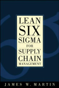 Lean Six Sigma for Supply Chain Management : The 10-Step Solution Process