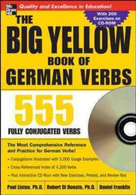 The Big Yellow Book of German Verbs : 555 Fully Conjugated Verbs (Big Book of Verbs) (1 PAP/CDR)
