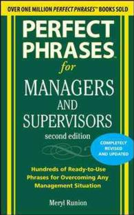 Perfect Phrases for Managers and Supervisors (Perfect Phrases) (2ND)