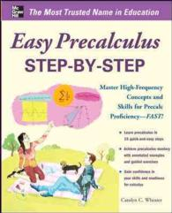 Easy PreCalculus Step-by-Step : Master High-frequency Concepts and Skills for Precalc Proficiency-fast! (Easy Step-by-step)
