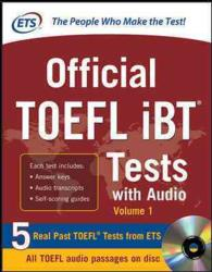 Official Toefl ibt Tests : With Audio (PAP/CDR)