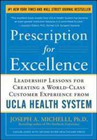 Prescription for Excellence : Leadership Lessons for Creating a World-Class Customer Experience from UCLA Health System