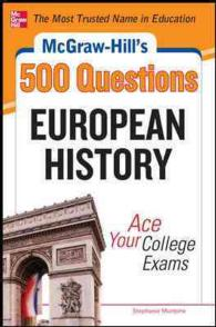 McGraw-Hill's 500 College European History Questions : Ace Your College Exams (Mcgraw-hill's 500 Questions)