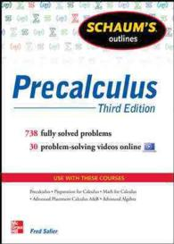 Schaum's Outline of Precalculus (Schaum's Outlines) (3RD)