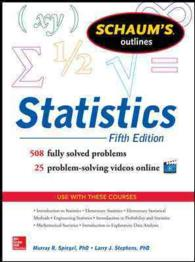 Schaum's Outlines Statistics (Schaum's Outlines) (5TH)