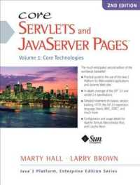 Core Servlets and Javaserver Pages : Core Technologies <1> (2 SUB)