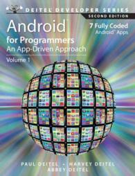 Android for Programmers : An App-Driven Approach (Deitel Developer) (2ND)