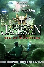 Percy Jackson and the Sea of Monsters (Percy Jackson) -- Paperback