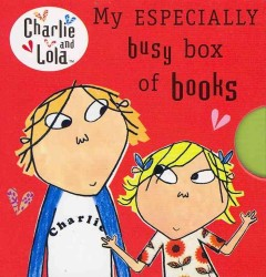 My Especially Busy Box of Books: Little Library (Charlie and Lola) -- Board book