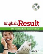 English Result Pre-Intermediate Teachers Book with CD-Rom Pack