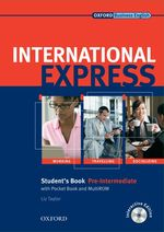 �N���b�N����ƁuInternational Express Interactive Edition Pre-intermediate Student Book with Pocket Book and Multi-rom�v�̏ڍ׏��y�[�W�ֈړ����܂�