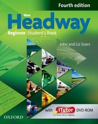 New Headway Beginner Fourth Edition Student Book with Dvd-rom Pack