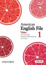 �N���b�N����ƁuAmerican English File Level 1 DVD�v�̏ڍ׏��y�[�W�ֈړ����܂�