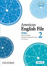 �N���b�N����ƁuAmerican English File Level 2 DVD�v�̏ڍ׏��y�[�W�ֈړ����܂�