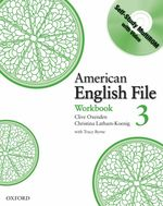 American English File Level 3 Workbook with Multi-rom