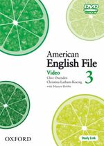 �N���b�N����ƁuAmerican English File Level 3 DVD�v�̏ڍ׏��y�[�W�ֈړ����܂�