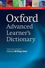 Oxford Advanced Learner's Dictionary Eighth Edition Paperback
