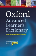 Oxford Advanced Learner's Dictionary: International Student's Edition and CD-ROM with Oxford iWriter (8TH)