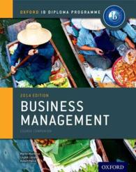 Business Management 2014 : Course Companion (Oxford Ib Diploma Programme)