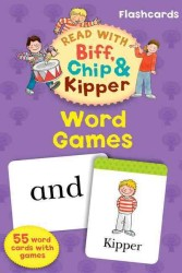 Oxford Reading Tree Read with Biff, Chip, and Kipper Flashcards: Word Games -- Cards