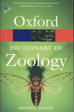 A Dictionary of Zoology (Oxford Paperback Reference) (3RD)