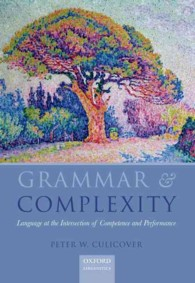 �N���b�N����ƁuGrammar & Complexity: Language at the Intersection of Competence and Performance�v�̏ڍ׏��y�[�W�ֈړ����܂�