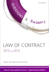 Q & A Law of Contract : 2013-2014 (Questions & Answers) (9TH)