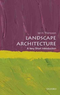 Landscape Architecture : A Very Short Introduction (Very Short Introductions)