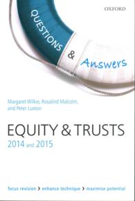 Questions & Answers Equity & Trusts 2014 and 2015 (Questions & Answers) (9TH)