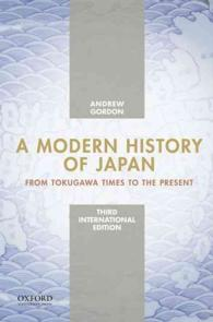 A Modern History of Japan: From Tokugawa Times to the Present (International)