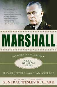 Marshall : Lessons in Leadership (Great Generals) (Reprint)