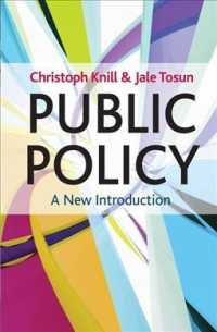 Public Policy : A New Introduction