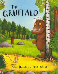 Gruffalo -- Board book (Illustrate)