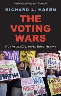 �N���b�N����ƁuThe Voting Wars : From Florida 2000 to the Next Election Meltdown�v�̏ڍ׏��y�[�W�ֈړ����܂�