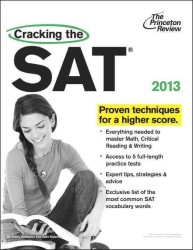 Cracking the Sat, 2013 (Cracking the Sat) (Original)