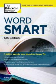Word Smart : How to Build an Educated Vocabulary (Word Smart (Building an Educated Vocabulary)) (5TH)