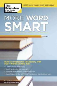 More Word Smart : How to Build an Impressive Vocabulary