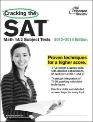 Cracking the SAT Math 1 & 2 Subject Tests, : 2013-2014 Edition (Cracking the Sat Math Subject Test) (Revised)