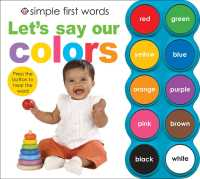 Let's Say Our Colors (Simple First Words) (INA BRDBK)