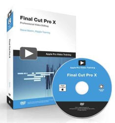 Final Cut Pro X (Apple Pro Video Series) (DVDR/PAP)