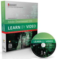 Adobe Dreamweaver Cs6 : Learn by Video: Core Training in Web Communication (Learn by Video) (DVDR/PAP)