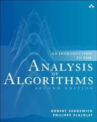 An Introduction to the Analysis of Algorithms (2ND)