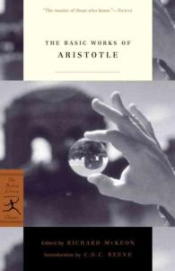 The Basic Works of Aristotle (Modern Library Classics) (Reprint)