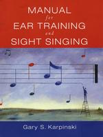 Manual for Ear Training and Sight Singing (SPI PAP/CD)