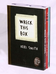 Wreck This Box (3-Volume Set) : Wrek This Journal, This Is Not a Book, Messy