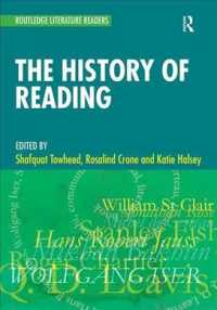 The History of Reading : A Reader (Routledge Literature Readers)