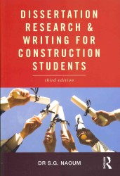 Dissertation Research & Writing for Construction Students (3RD)